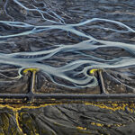 Markarfljót River #3, Erosion Control, Iceland
